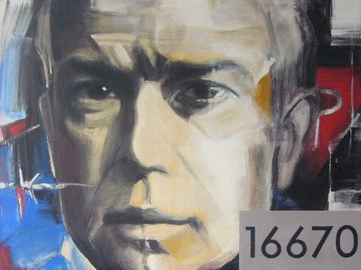 Portrait Maximilian Kolbe von J. Winterheld